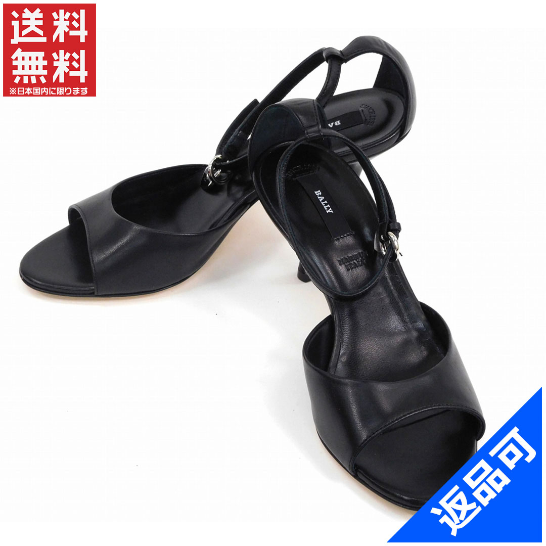 バリー 靴 レディース パンプス BALLY #34 (美品・即納) 【中古】 X3607