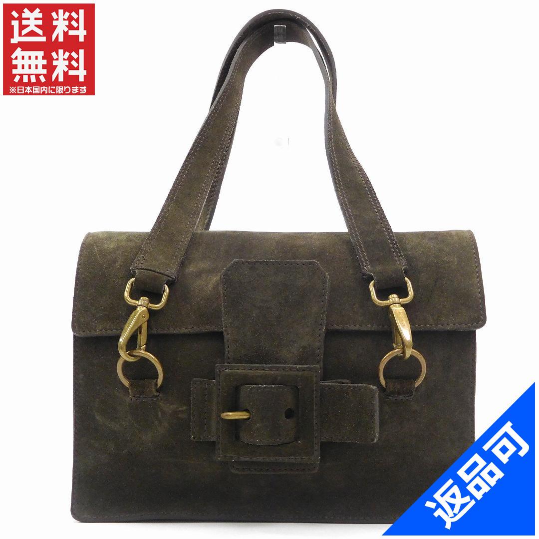 (Cheap and quick delivery) (Correspondence) Miu Miu  miumiu   shoulder bag    shoulder   Black   Suede X4197 8d04a0d271ce3