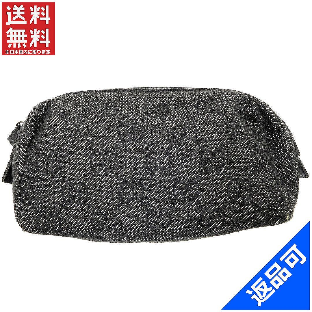 fb0cd504c956 Popular low (enabled) Gucci discount   pouch   makeup pouch   mens-friendly   GG pattern Black   canvas   leather X5767