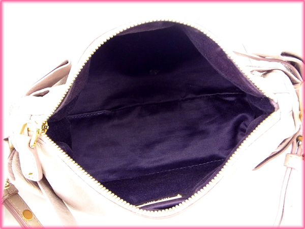 8b523c985fd57 ... Miu Miu miumiu handbags / pouch / Ribbon brooch pink leather  (correspondence) popular low
