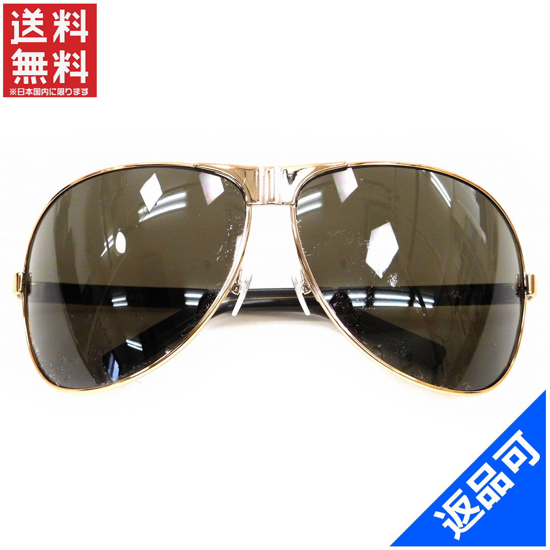 13bb9611230 Gucci by GUCCI sunglasses glasses men allowed Teardrop clear black × pink  stainless steel x plastic (for) good popular X6578