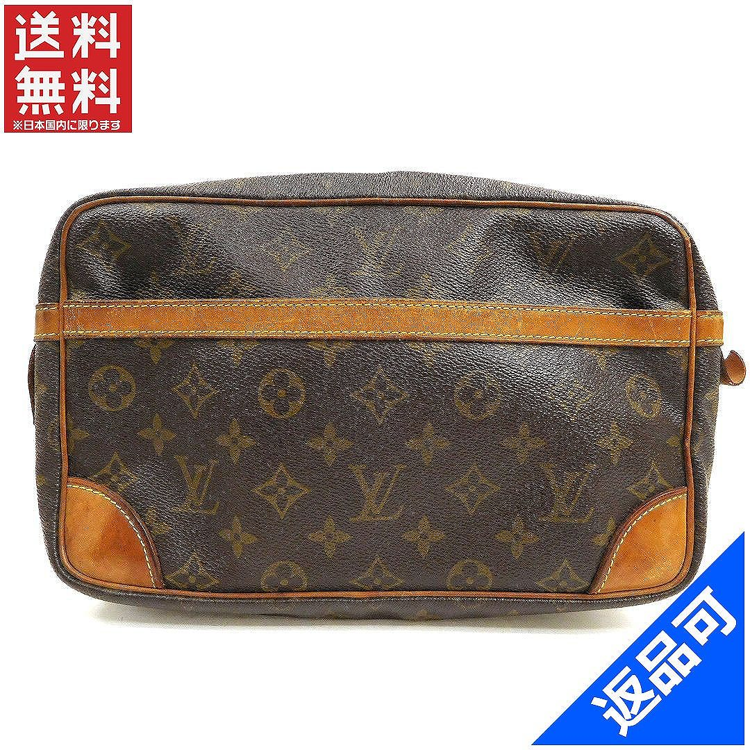 a3f7530a851c Louis Vuitton Louis Vuitton second bag clutch bag mens allowed Compiègne 28  Monogram Brown Monogram Canvas (correspondence) popular low-price  (reference ...