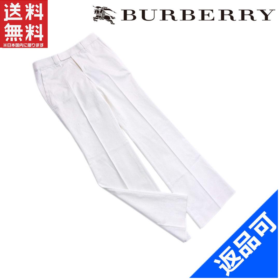 [閉店セール]バーバリー BURBERRY パンツ フルレングス ♯36サイズ ストレート センタープレス 中古 X6855