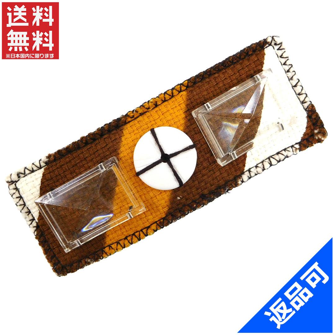 [閉店セール]ミュウミュウ miumiu ブローチ ファッションアクセサリー ピンブローチ デザインボタン付き 中古 X6902