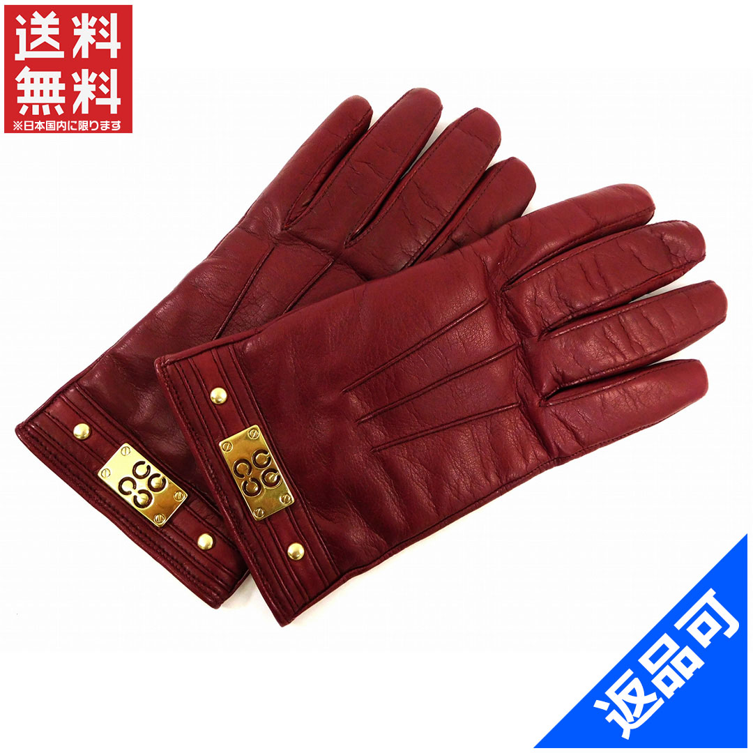 コーチ レディース (メンズ可) 手袋 COACH 人気 激安 【中古】 X7286