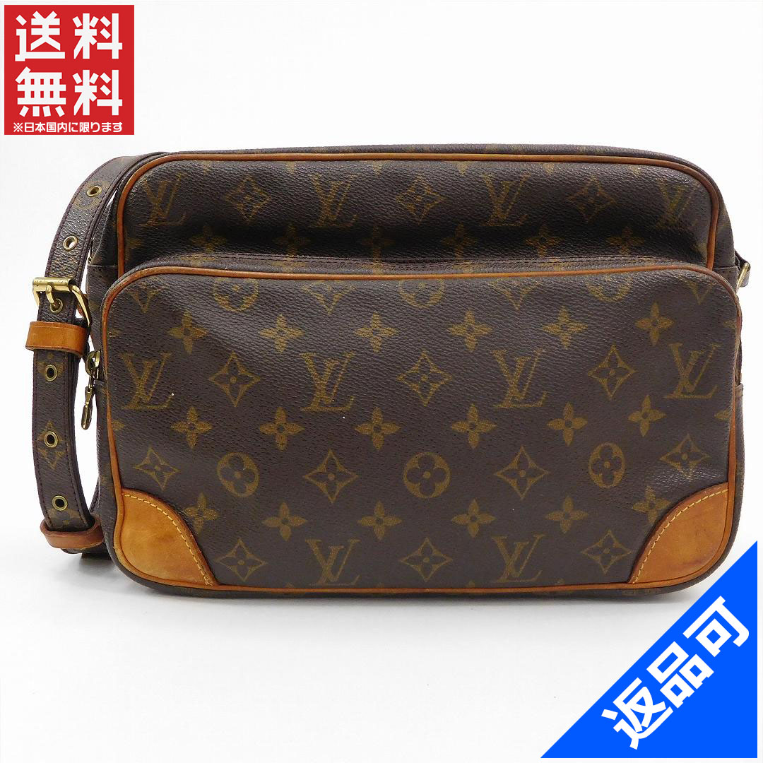 Louis Vuitton Louis Vuitton shoulder bag diagonally over shoulder mens  allowed Nile Monogram Brown Monogram Canvas 8f09e4b612089