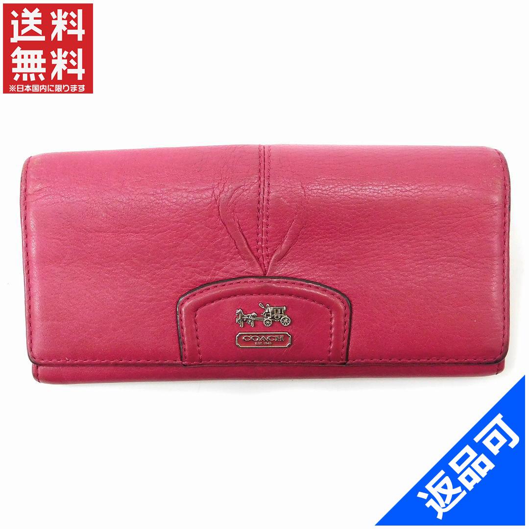 cc10d12366 Designer Goods BRANDS  Coach COACH long wallet zip long wallet hot pink  leather (response) low-price Stock X8236