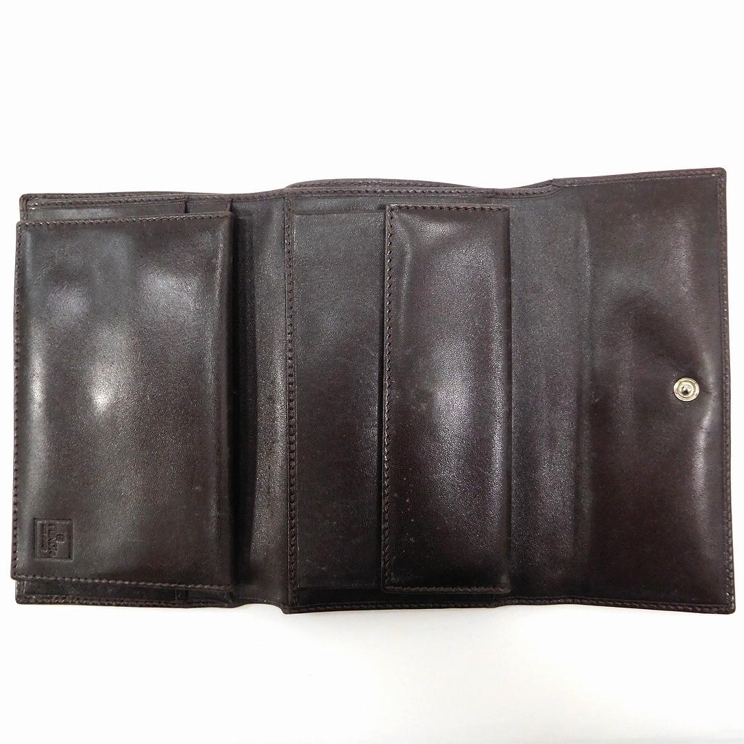 fec12f8d325c フェンディ 財布 財布 財布 レディース (メンズ可) 二つ折り財布 FENDI ズッカ 三つ折り財布 激安 即納 【中古】 X8436 17d