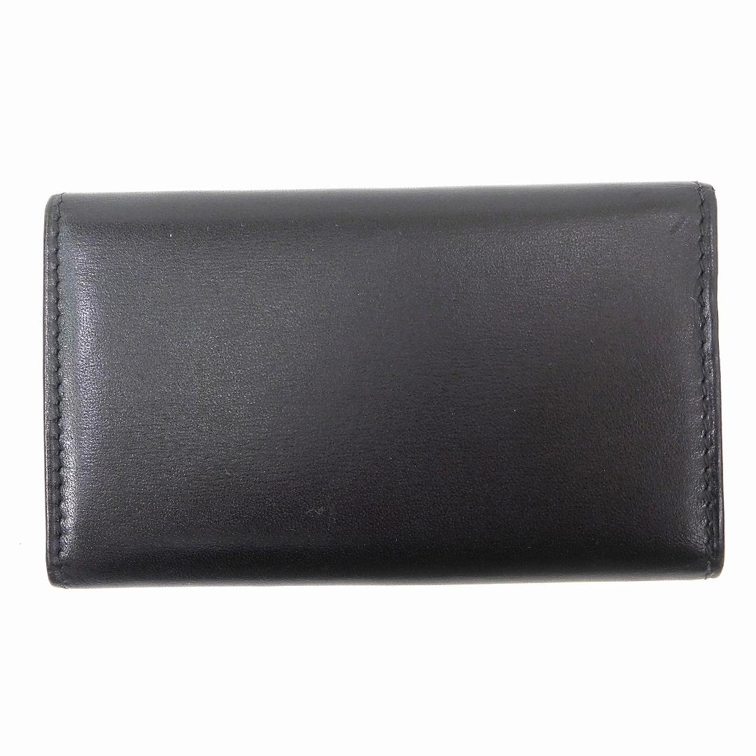 f2893cadbf42a Cartier Cartier key case 6-key case men-friendly 6-black leather with  beauty goods delivery X8583