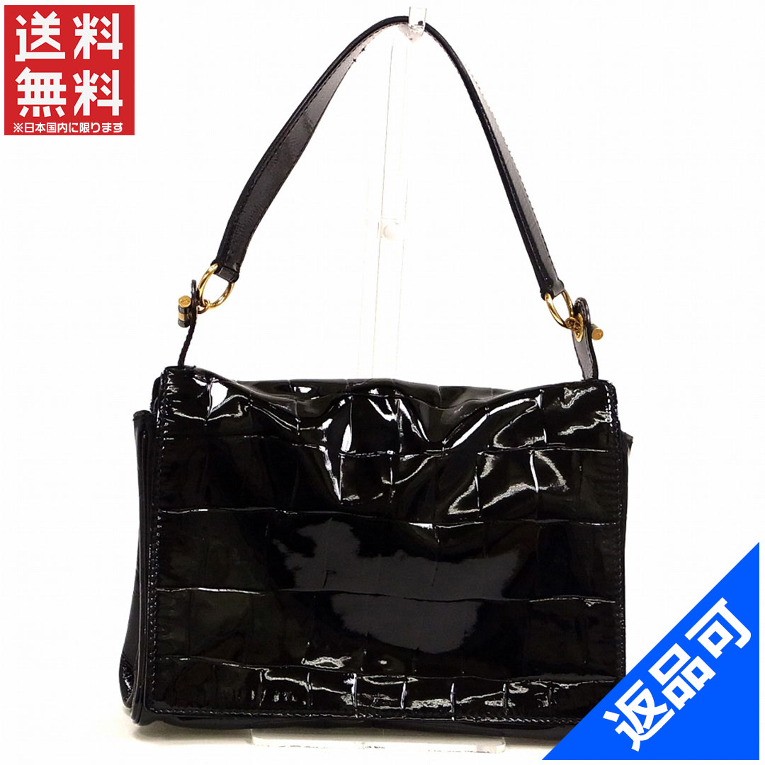 [half price sale] Yves Saint Laurent YVES SAINT LAURENT bag shoulder bag used X8703
