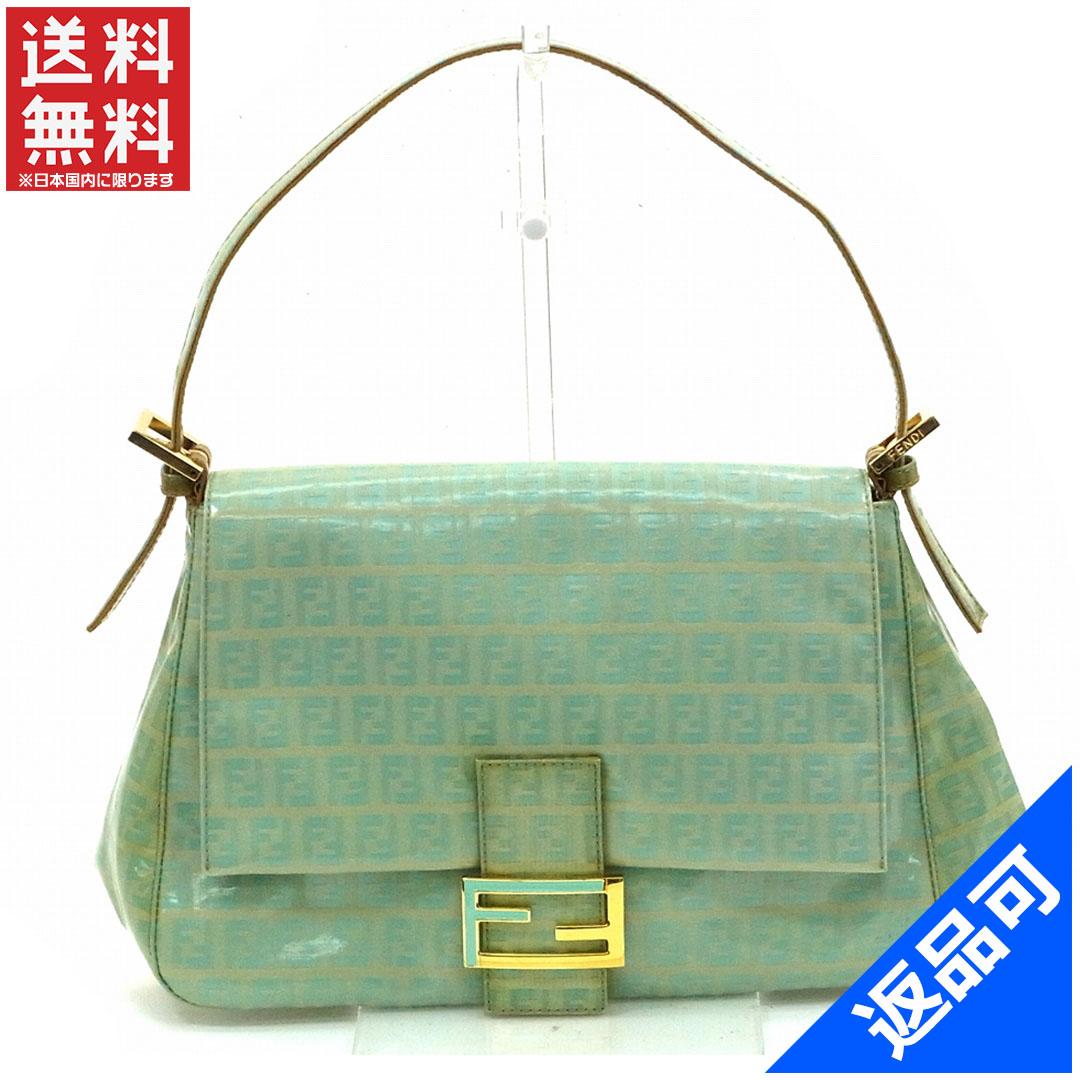 4d252758 Designer Goods BRANDS: Fendi by FENDI handbag caked light blue enamel  leather with cheap stock X9370 | Rakuten Global Market
