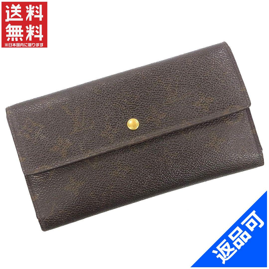 59f9e650db1d ルイヴィトン 財布 レディース (メンズ可) 二つ折り財布 LOUIS VUITTON M61215 ポルトトレゾール