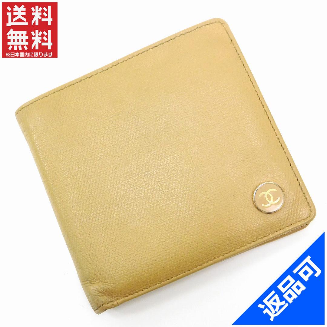 001a296a9929 シャネル 財布 レディース (メンズ可) 二つ折り財布 CHANEL ココボタン 人気 即納 【