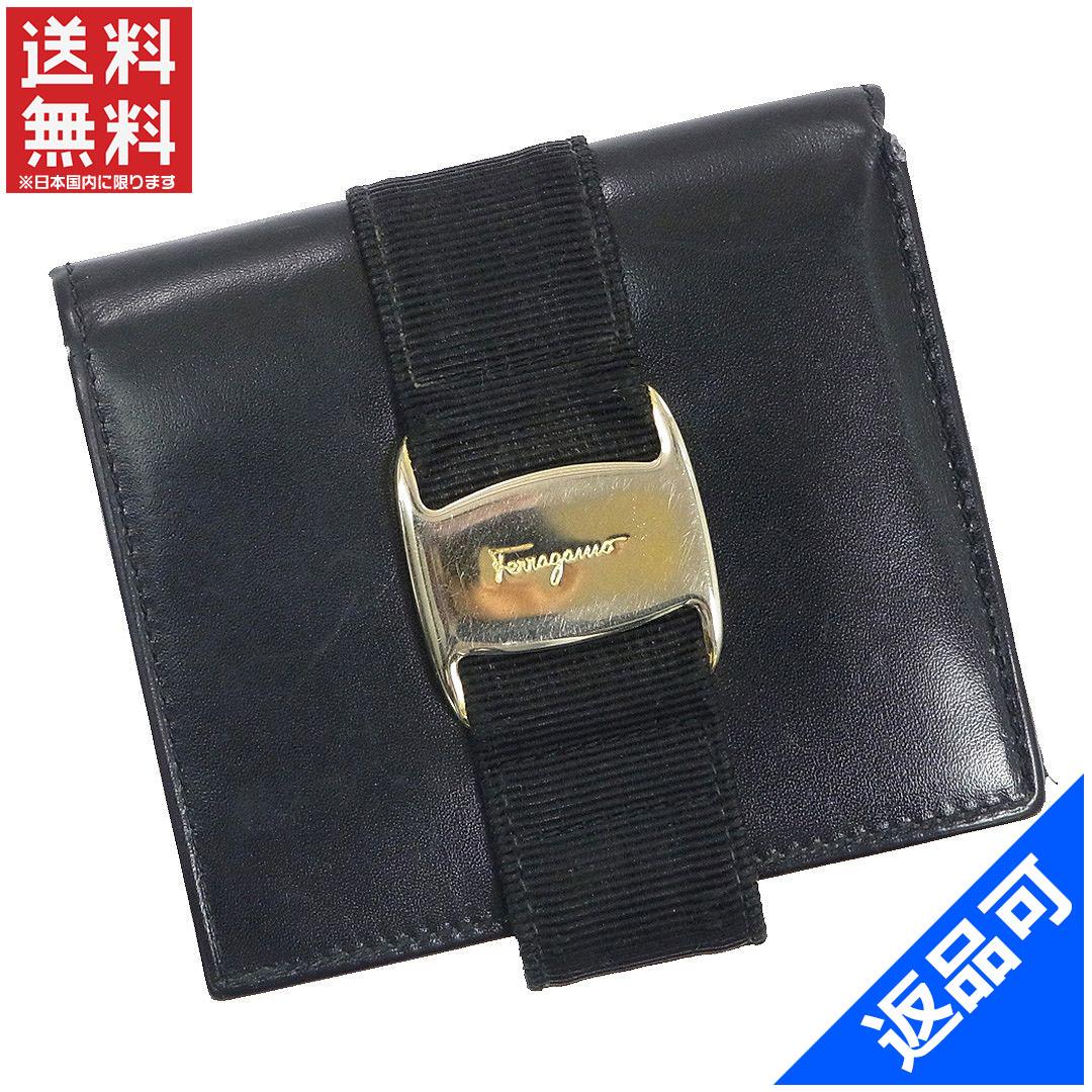 f8d52a40a2f8 Salvatore Ferragamo Salvatore Ferragamo wallet two bi-fold wallet sale  stock X10264