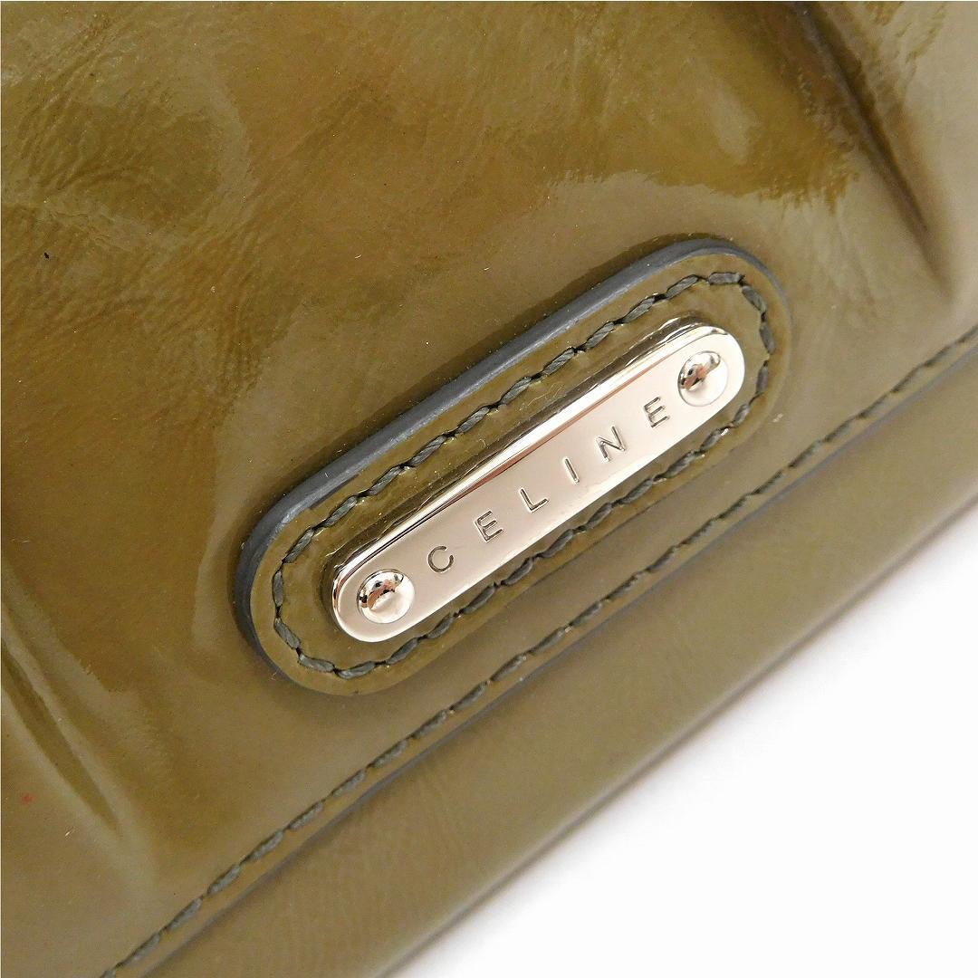 c74e9360144a ... X10606 CELINEセリーヌ財布二つ折り財布Wホック財布メンズ可良品即納【】 ...