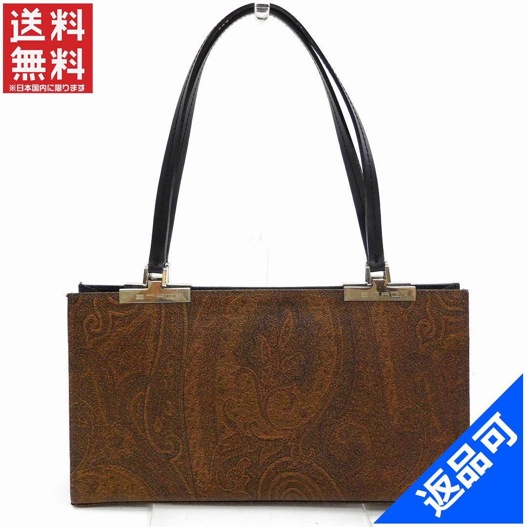 e077a3daef471 Designer Goods BRANDS  ETRO ETRO bag handbag Paisley stock X10619 ...