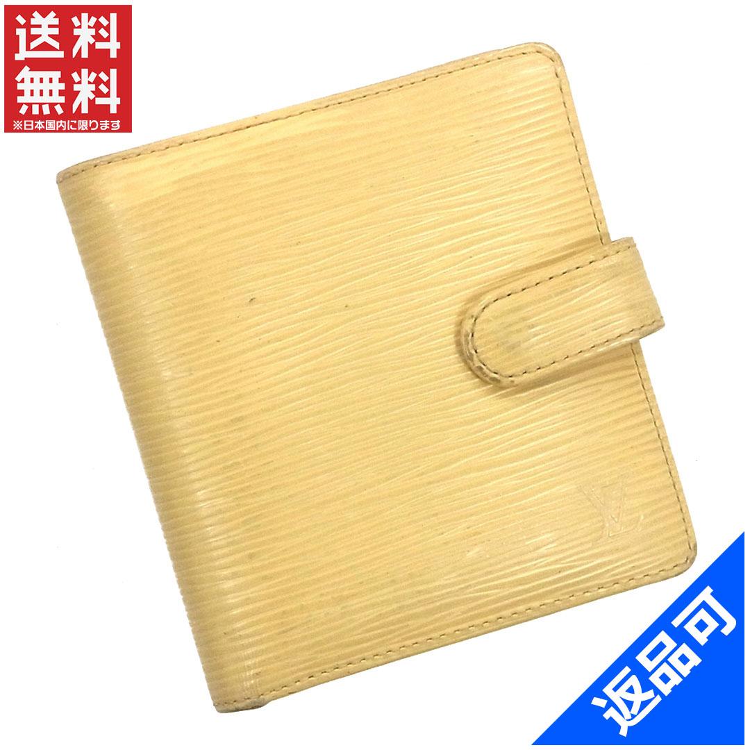 ルイヴィトン 財布 レディース (メンズ可) 二つ折り財布 LOUIS VUITTON エピ 人気 即納 【中古】 X9809