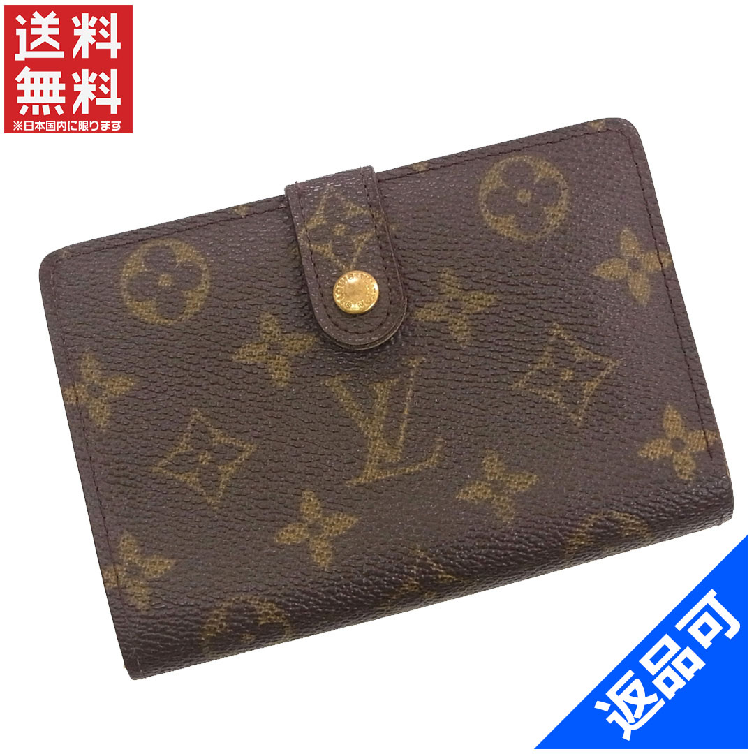 LOUIS VUITTON Louis Vuitton wallet M61674 wallet, French purse two bi-fold wallet  Monogram wallet mens-friendly good popular X9972 0bca8045daa