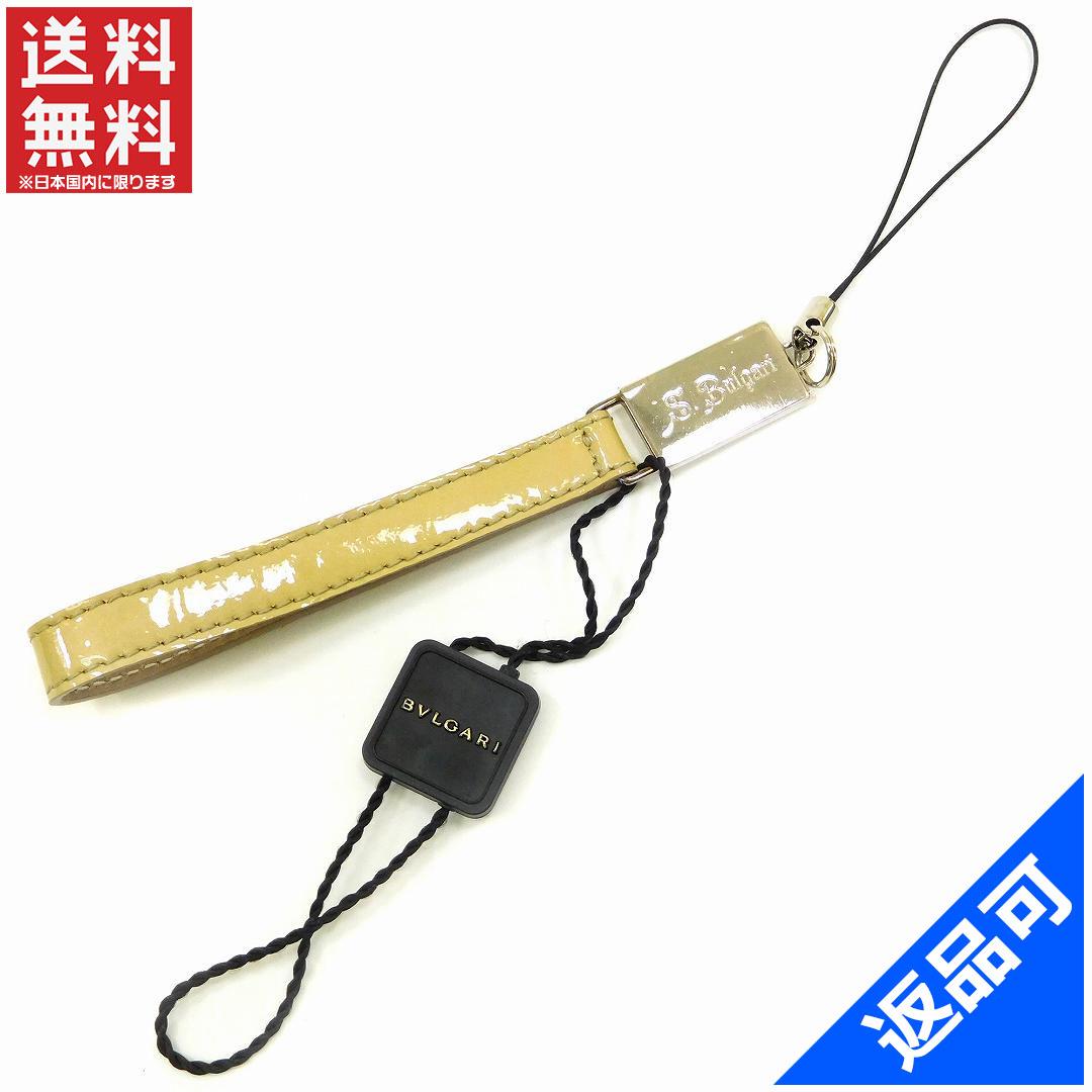 ブルガリ レディース (メンズ可) 携帯ストラップ BVLGARI 男女兼用 即納 (未使用品) X10693
