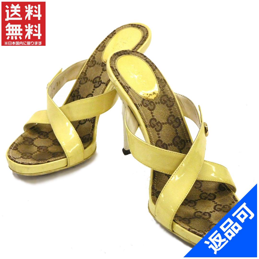8f284fd43ce GUCCI Gucci shoes 154264 Sandals GG canvas shoes shoes women s stock X10835