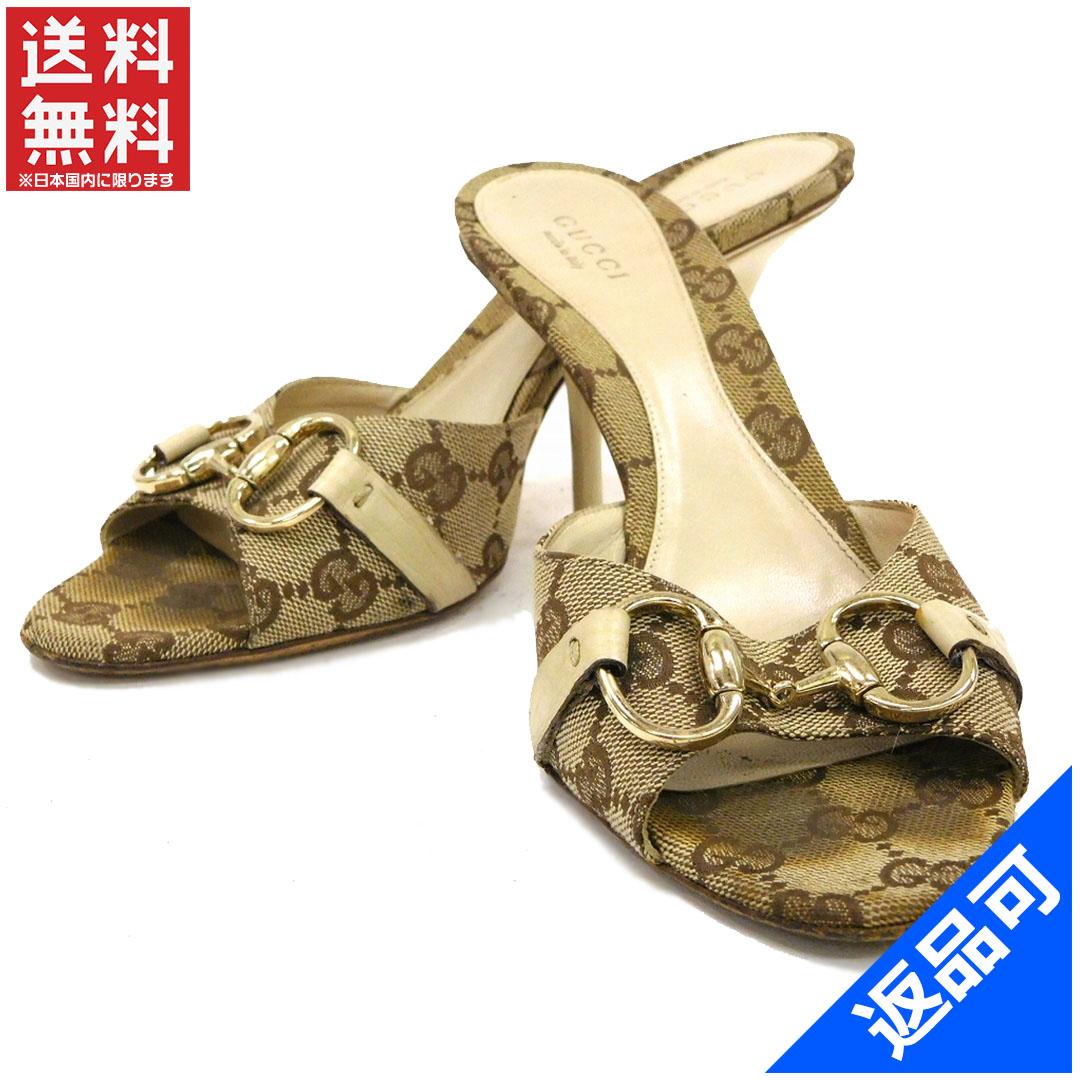 d37cc73f3e1 Designer Goods BRANDS  GUCCI Gucci shoes 138532 Mule GG canvas shoes ...