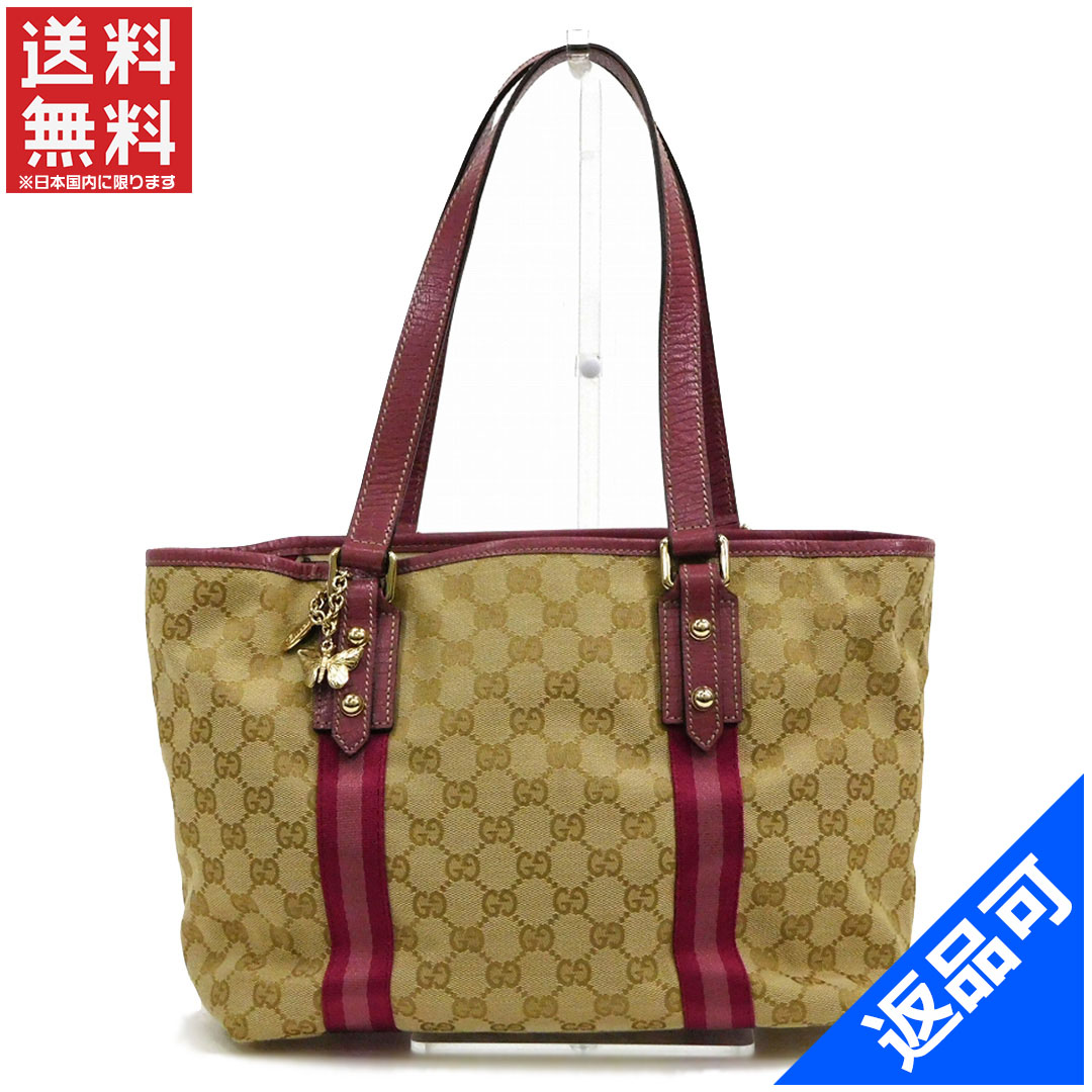 aacb58d37b6 With GUCCI Gucci bags 137396 charm tote bag GG canvas stock X11039 ...