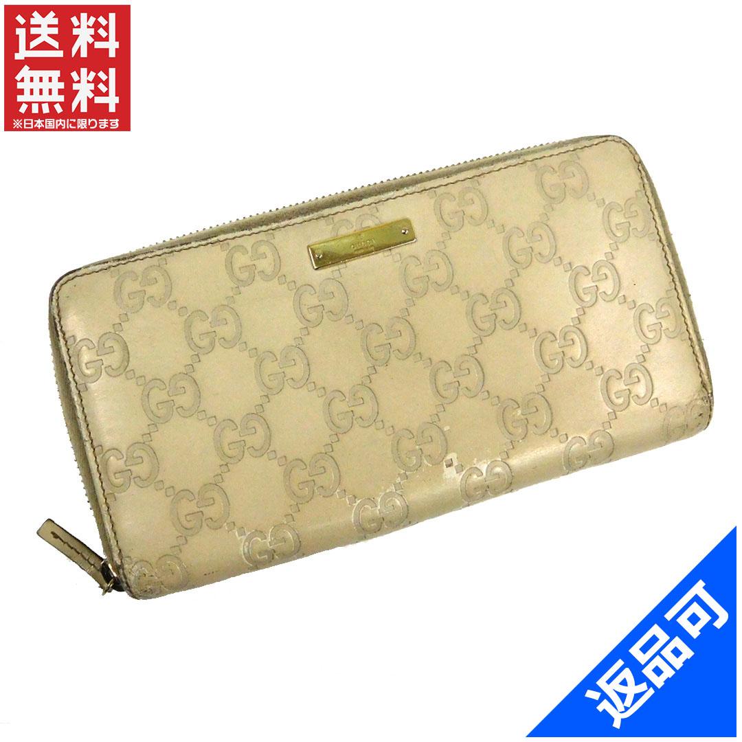 online retailer 81100 11328 財布 グッチ レディース X11138 【中古】 即納 ラウンド ...