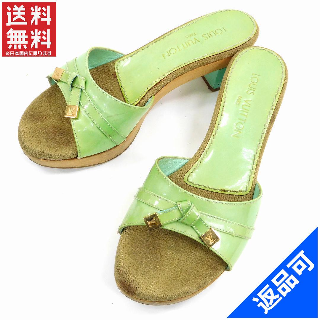 742e5c73843b26 Designer Goods BRANDS  LOUIS VUITTON Louis Vuitton shoes wood Sandals  Vernis shoes shoes women s stock X11489