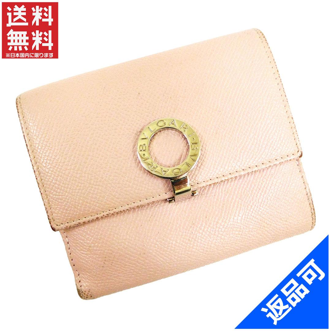 big sale c18a0 97de4 ブルガリ 財布 レディース (メンズ可) 本物 二つ折り財布 ...