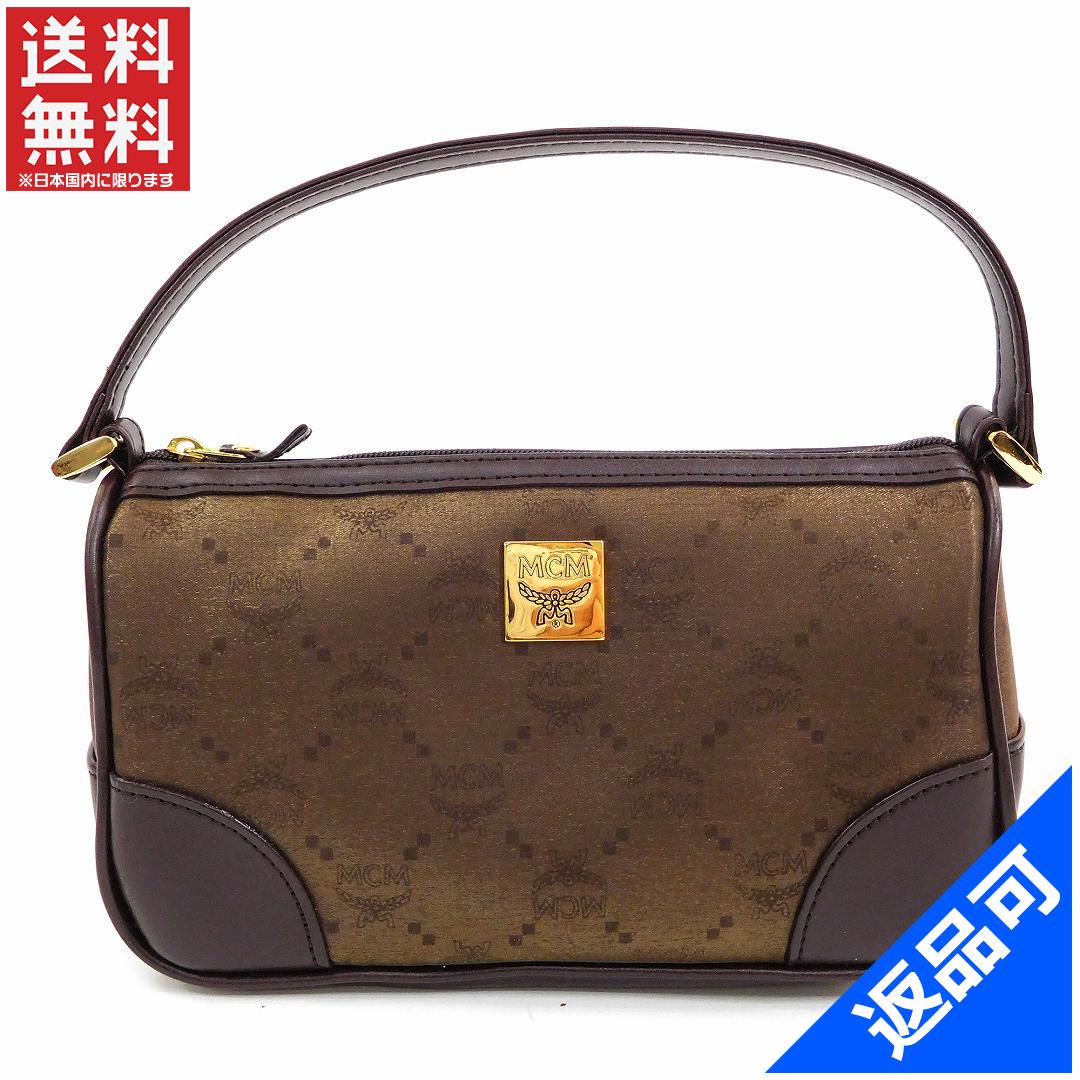 c3c16c2ed8bc MCM MCM elegante bag w/ pouch logo handbag beauty products now (still used)  X12305
