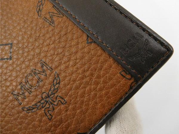 Designer Goods Brands Mcm Mcm Elegante Wallets Wallet Logo Mens