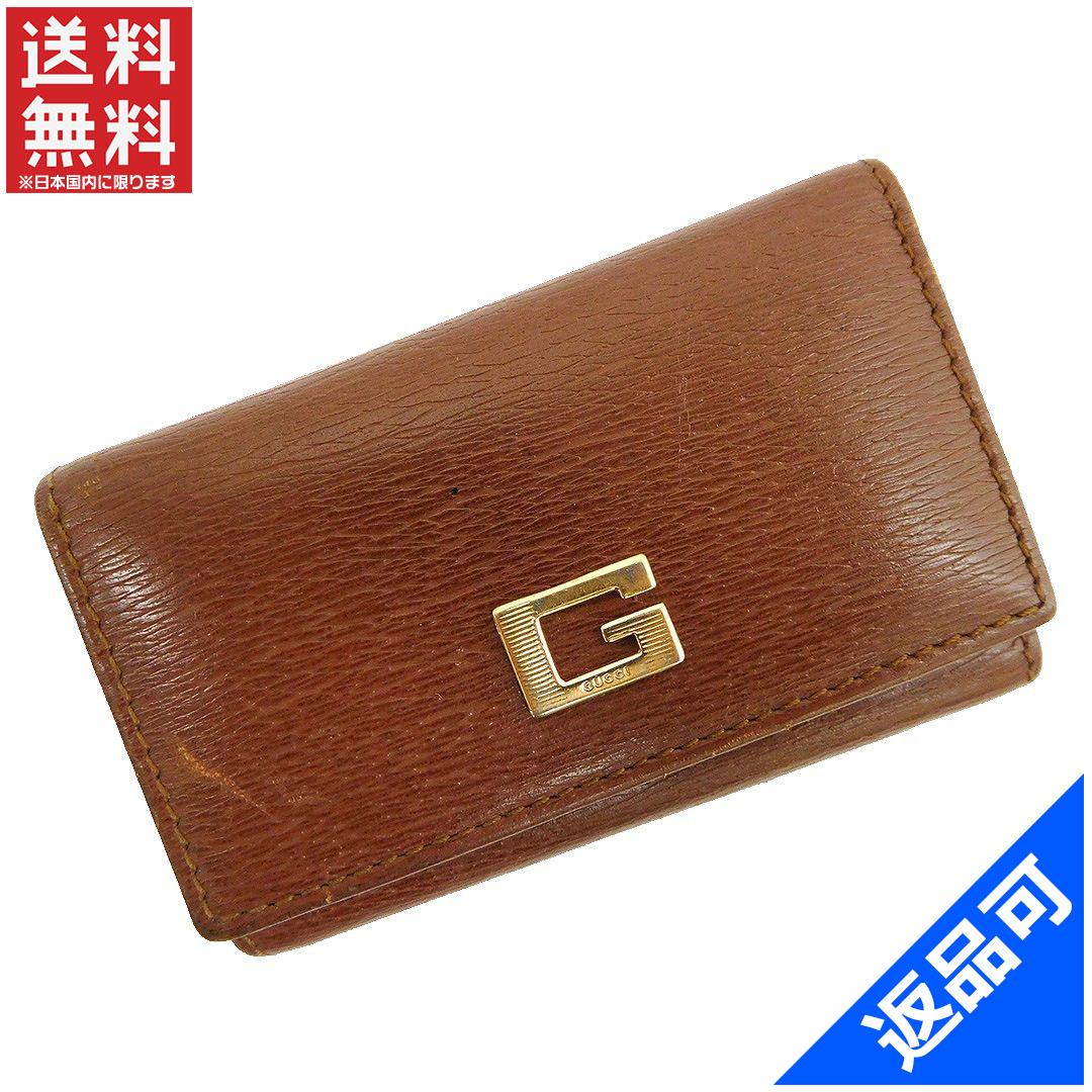d3e329bf257d Designer Goods BRANDS  GUCCI Gucci G metal key holder 6-men s key ...