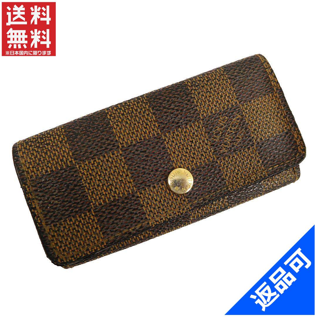 145d0d77424 Goods Brands Louis Vuitton N62631 Multicore. Damier Azur Trifold Key Holder  ...