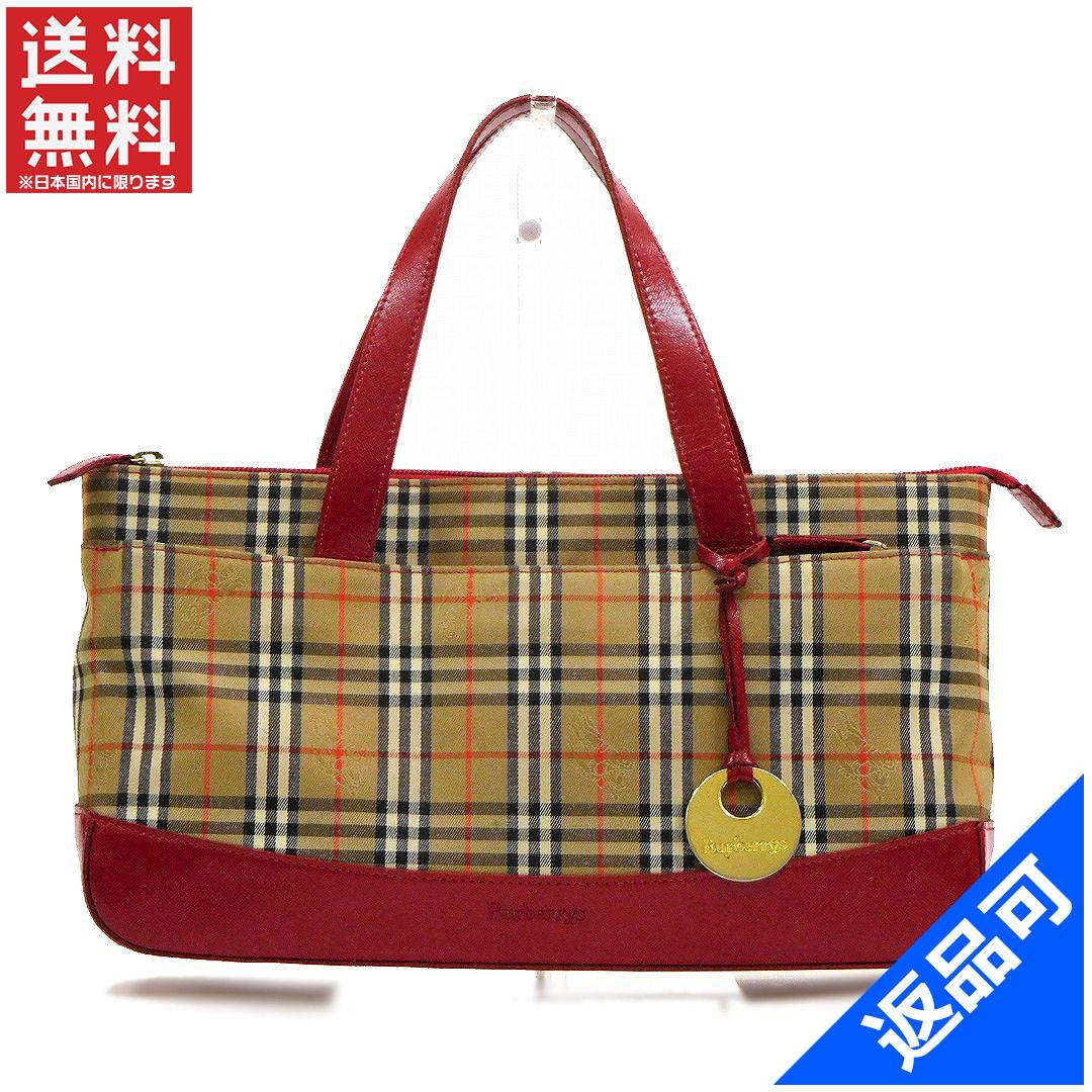 BURBERRY Burberry bag tote bag Nova check handbag popular stock X13150 00ba2dba0c
