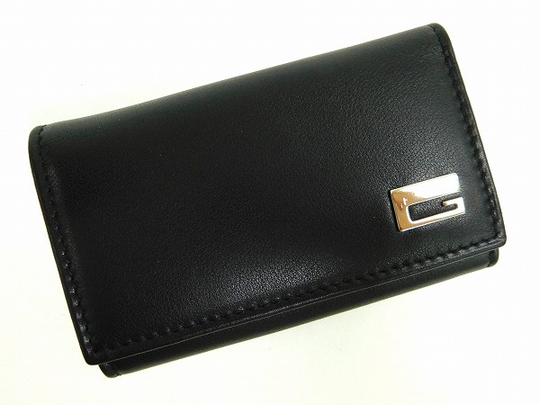 ae94dadbe49da GUCCI Gucci S metal key holder 6-key case men-friendly delivery (less used)  X13199
