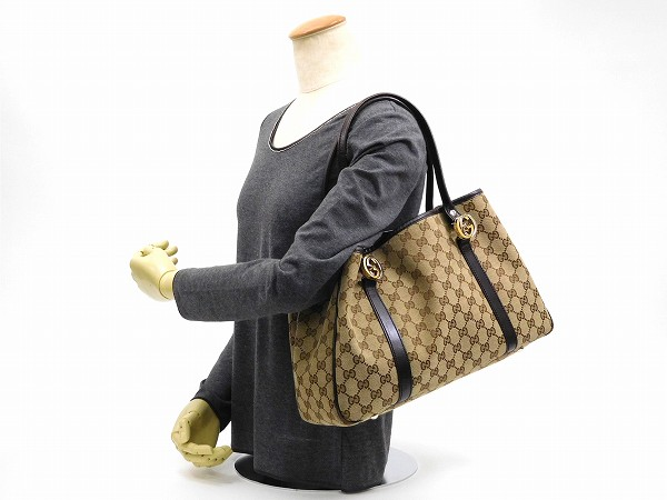 2fc49d154956 Designer Goods BRANDS: GUCCI Gucci bags twins tote bag GG canvas ...