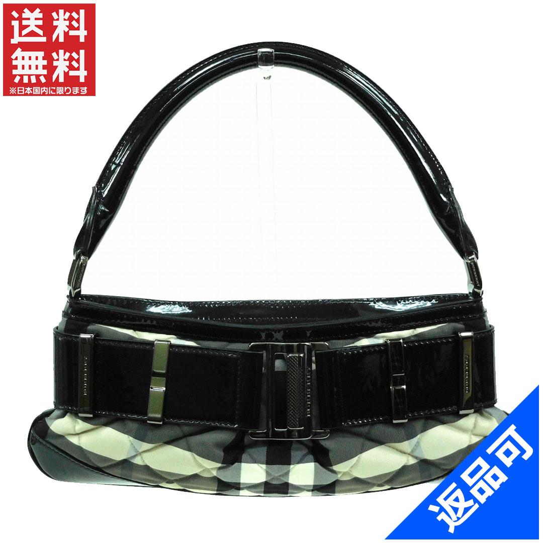 [半額セール]バーバリー BURBERRY バッグ ショルダーバッグ ワンショルダー 中古 X13355