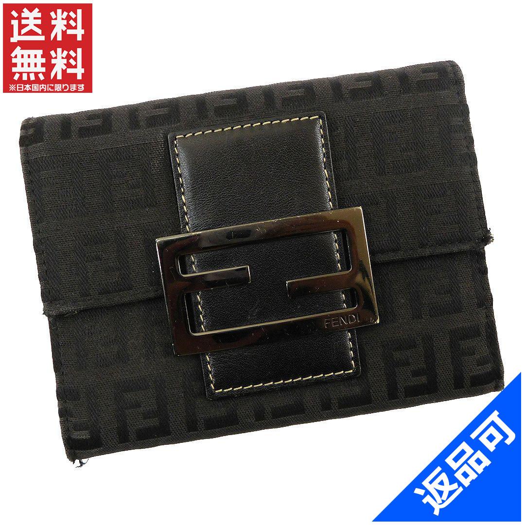 0eaf01bff86e FENDI Fendi purse two bi-fold wallet zucchino long tri-fold wallet men's  available ...