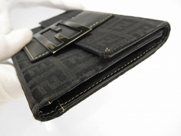 57b3991d4864 ... FENDI Fendi purse two bi-fold wallet zucchino long tri-fold wallet  men's available