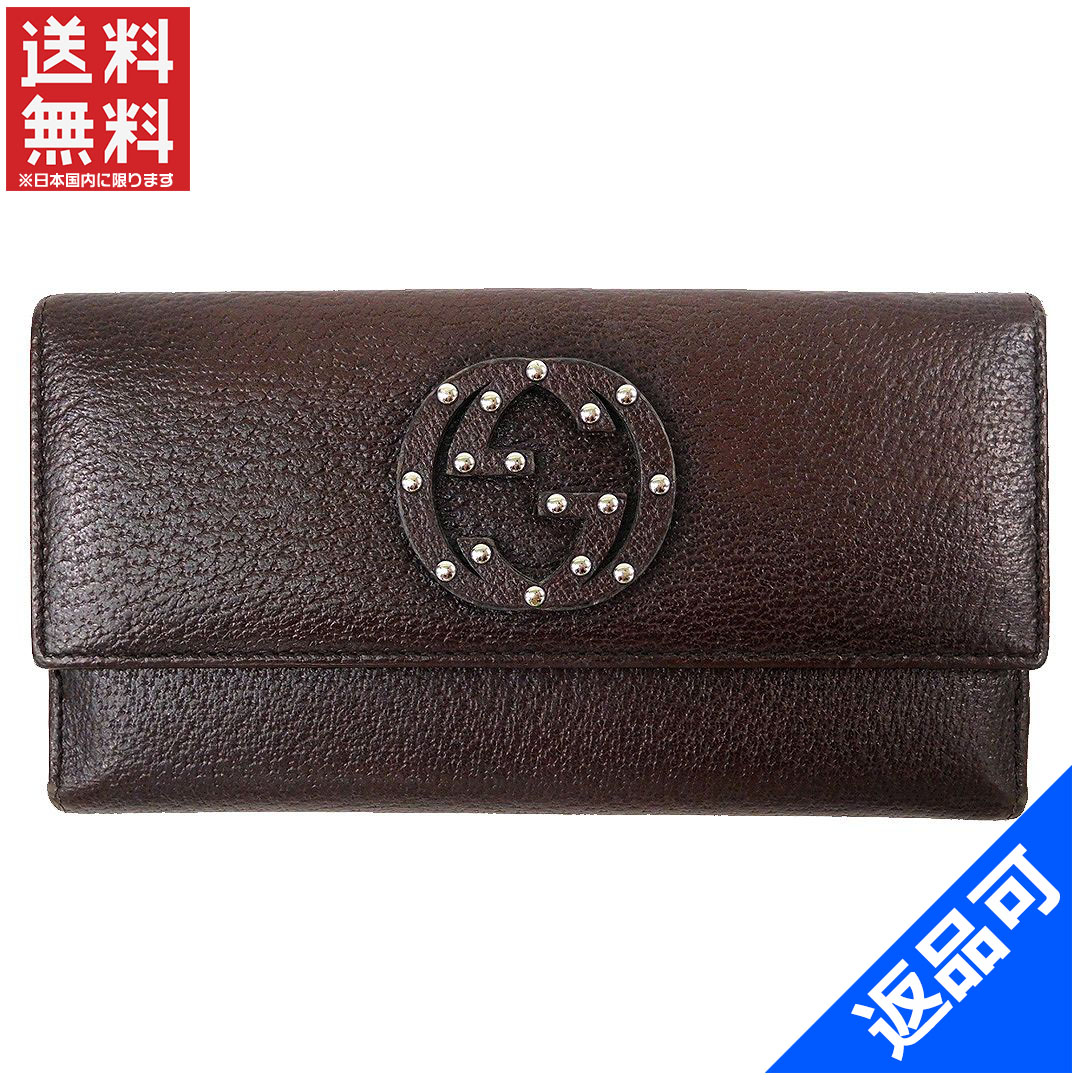 a6ae8dec4f4e GUCCI Gucci wallet long wallet interlocking grip men's possible immediate  delivery X13846