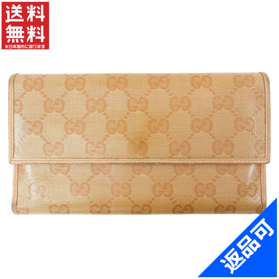 02f1bf5fa6b5 GUCCI Gucci wallet long wallet GG plus immediate delivery X13878. Used -  Acceptable