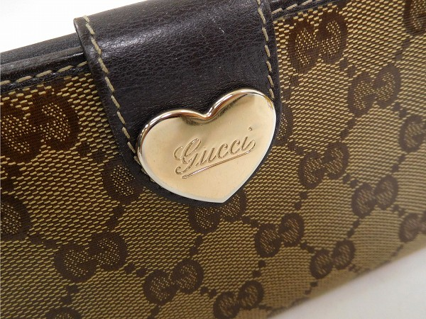 1d33a5cee446 GUCCI Gucci wallet long wallet GG positive men's possible immediate delivery  X14515