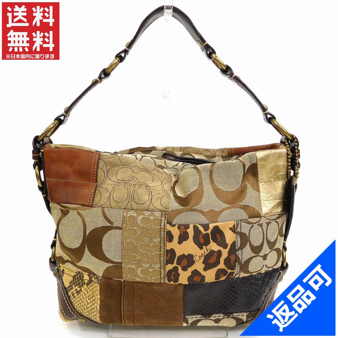 Coach Bag Lady Men S Possible Shoulder Patchwork Signature Immediate Delivery X15625