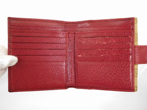 3009d9267993 ... GUCCI GGキャンバス 即納 | X15807 | 即納 グッチ 二つ折り財布 ...
