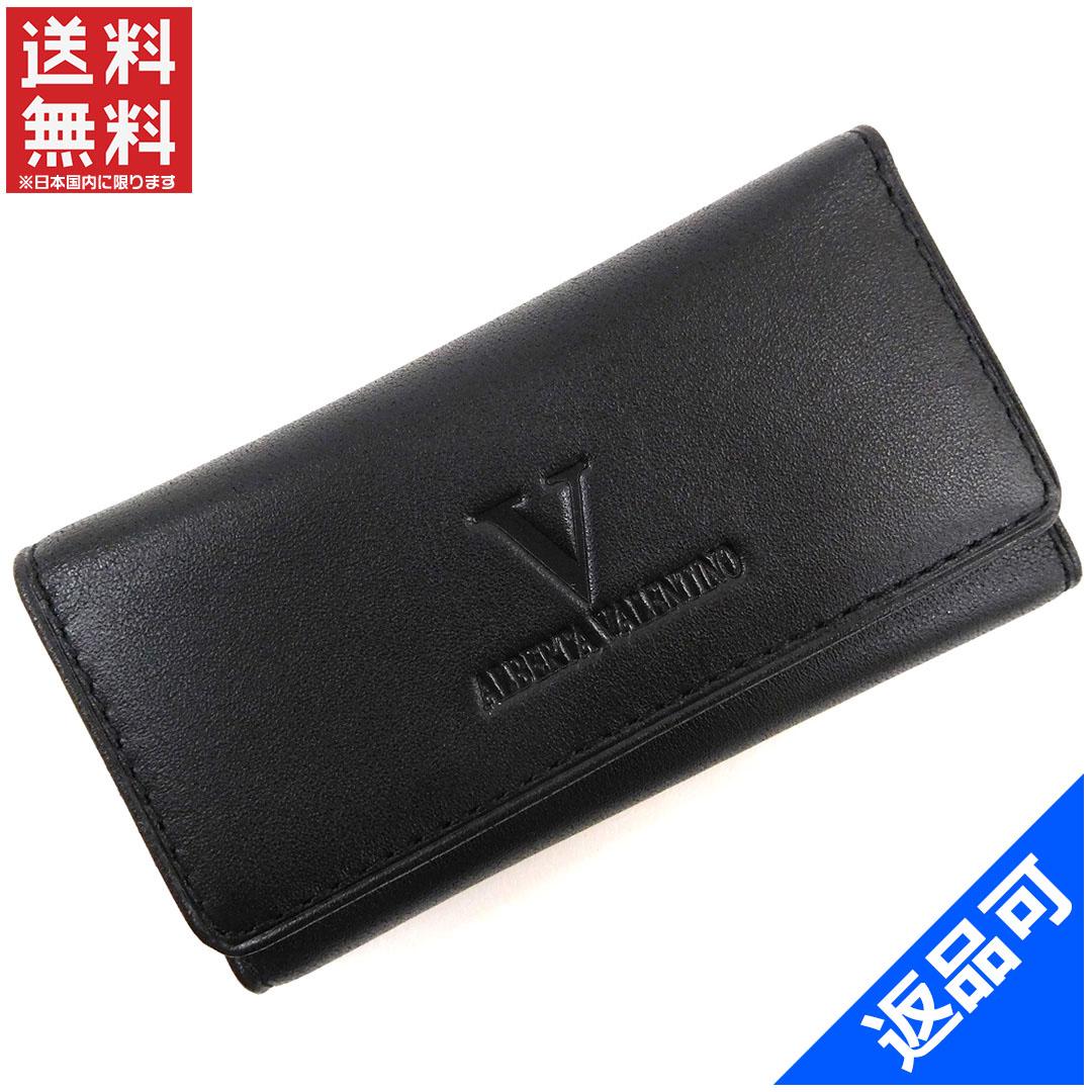 [閉店セール]ヴァレンティノ VALENTINO キーケース 4連キーケース 中古 X16043