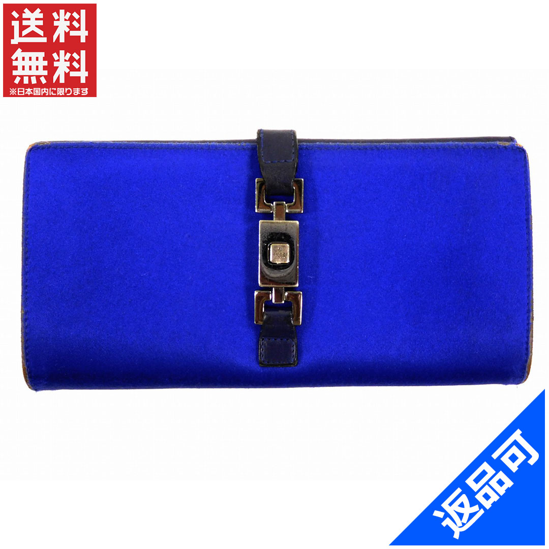 60a8b19fd26 Gucci wallet Lady s (men s possible) long wallet GUCCI Jackie metal  fittings immediate delivery X16463