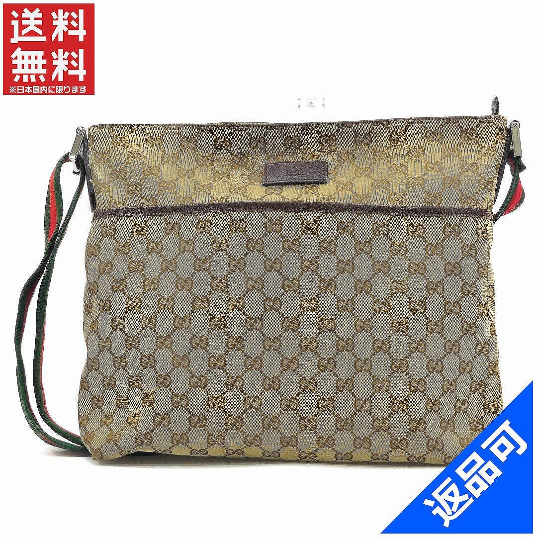 60dac3100869 It is Gucci bag lady (men s possible) shoulder bag GUCCI GG canvas  immediate delivery X17042  possible returned goods