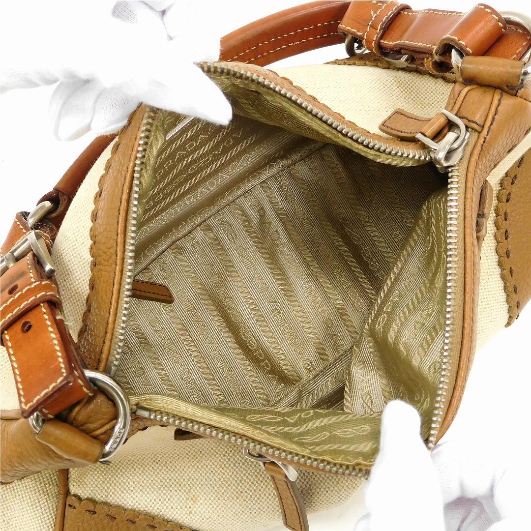 ca974a58 Prada bag lady (men's possible) shoulder bag PRADA logo plate immediate  delivery X17089