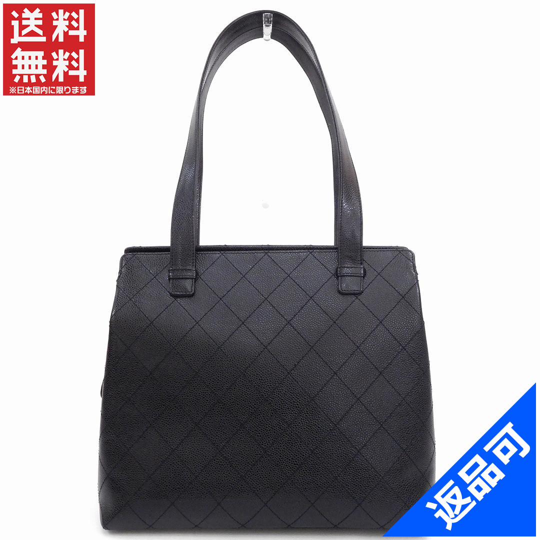 631e82b0617 Designer Goods BRANDS: It is Chanel bag lady (men's possible) shoulder bag  CHANEL fifth stand caviar skin immediate delivery X17233 [possible returned  ...