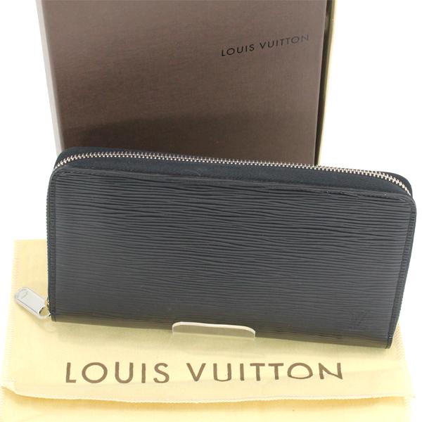 極美品 LOUIS VUITTON ルイヴィトン エピ 黒 ブラック ジッピーオーガナイザー ラウンドファスナー長財布 メンズ M60632 箱・袋【中古】